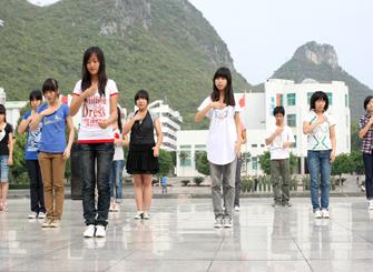 2011桂林首届大学生文化节准备就绪