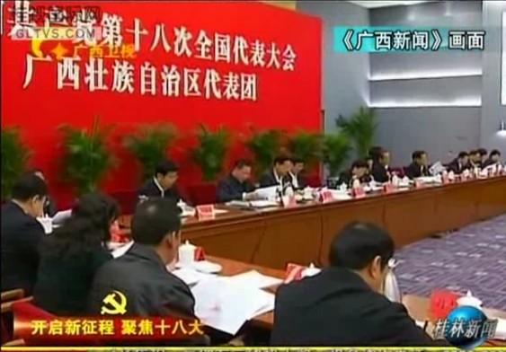桂林市十八大代表在京受到媒体关注