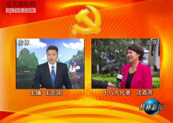 我在北京见证――电话连线十八大代表沈荔芳
