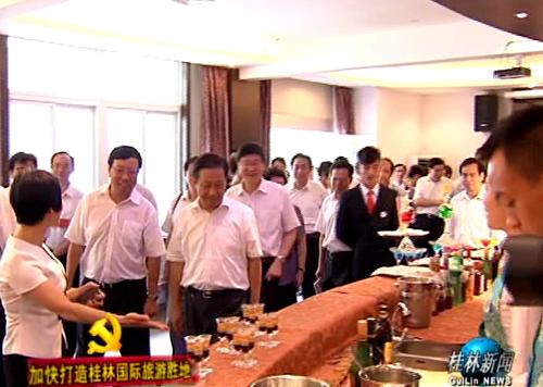 旅游发展大会嘉宾考察我市旅游发展情况 盛赞桂林国际旅游胜地建设前景喜人