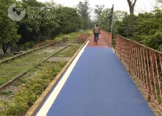灵川大圩:最美骑行建设带动周边农家乐发展