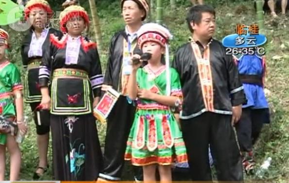 资源河灯歌节:青山做帐绿水搭台 山歌唱响天门山