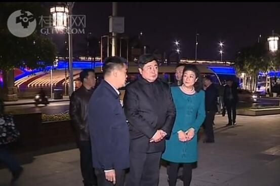 单霁翔调研桂林文化遗产保护工作