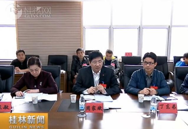 周家斌参加灵川团分团审议:突出发展特色旅游  全力推动工业发展