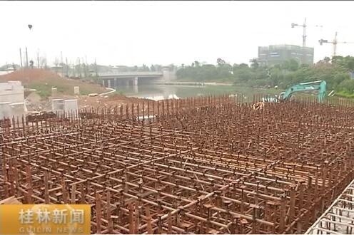 【砥砺奋进的五年·重大项目促发展】临桂新区桥梁今年可实现桥上通车桥下通航