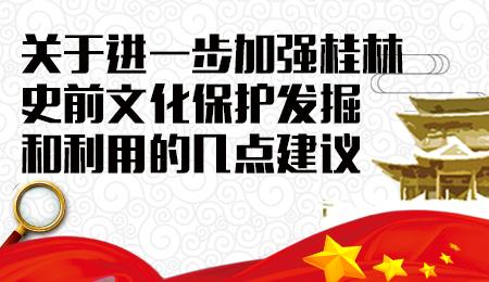 关于进一步加强桂林史前文化 保护、发掘和利用的几点建议