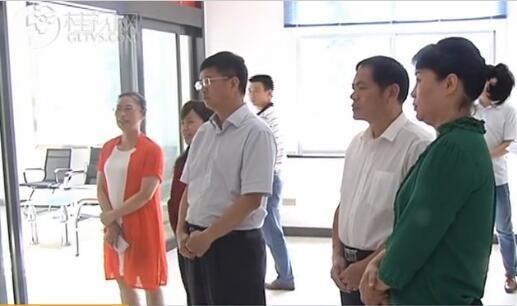 王建毅调研灌阳园区党建和扶贫工作
