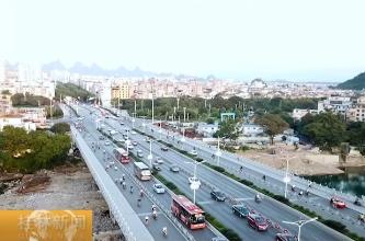 """【砥砺奋进的五年】""""桥""""这五年:桂林交通因此更顺畅"""