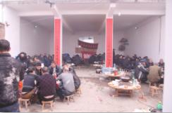 龙舟结缘,八个兄弟村同吃年饭以示友谊长存