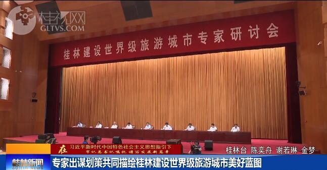 专家出谋划策共同描绘桂林建设世界级旅游城市美